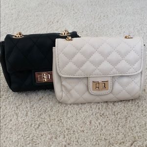 Bundle of quilted cross body's